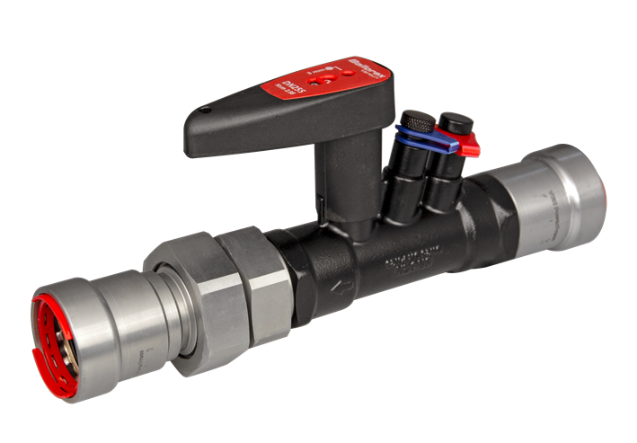 image for PPSU900 venturi commissioning valve with union connection
