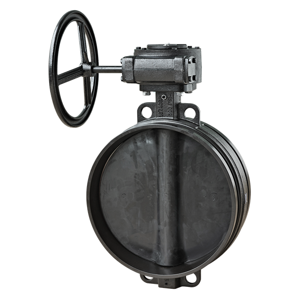 image for SJ-300N-W Butterfly Valve (gearbox prepared)