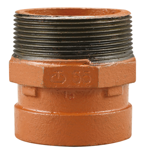 image for 55 Grooved adapter