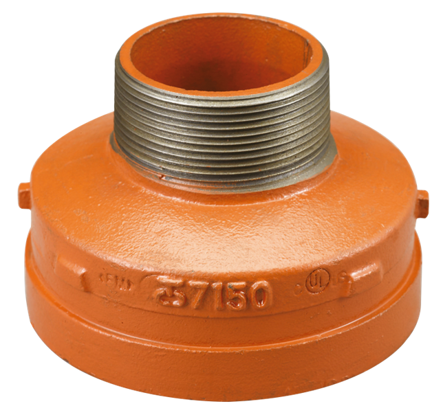 image for 7150M Grooved reducing nipple